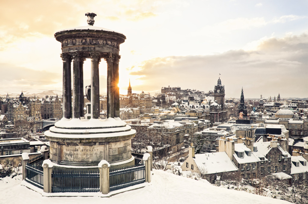 Edinburgh Snow