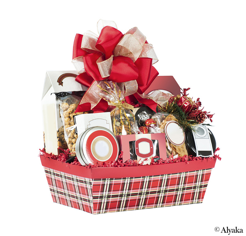 Christmas Hamper Basket.Luxury Christmas Hamper Ideas