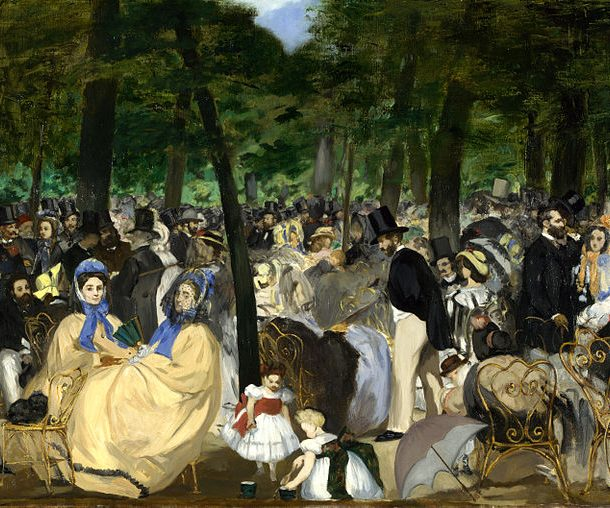 Édouard Manet Music in the Tuileries