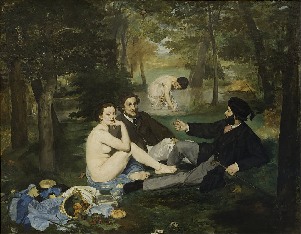Eduard Manet Lunch On The Grass