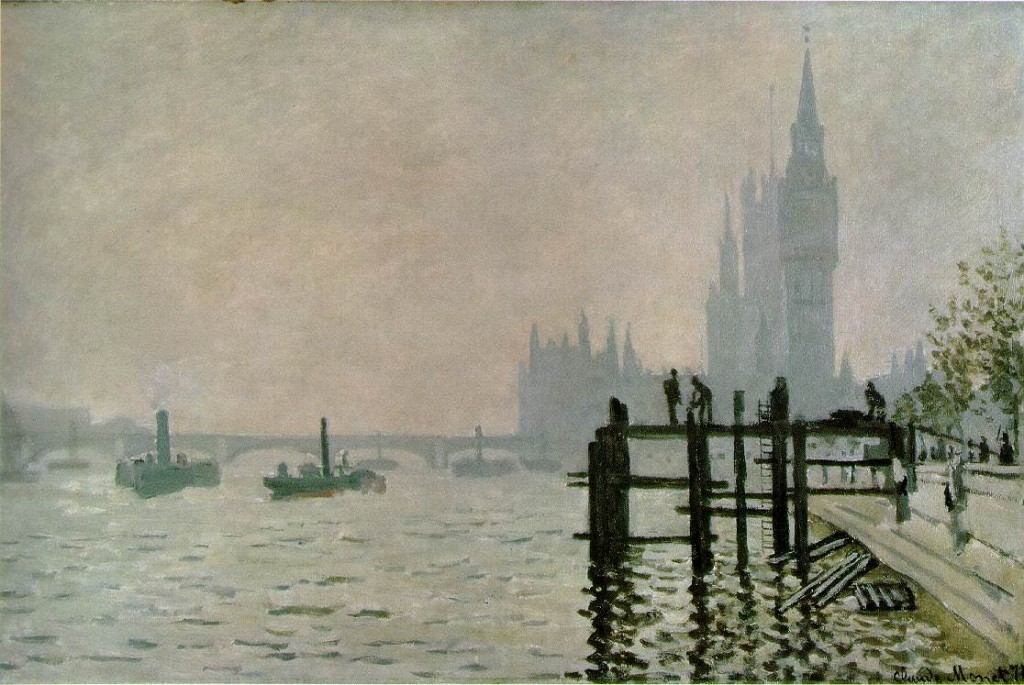 Cloude monet  The Thames at Westminster
