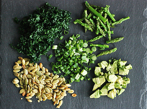 Green superfood recipes – light spring bites