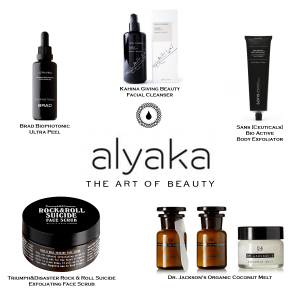 Natural and Niche Beauty Products for Exfoliation