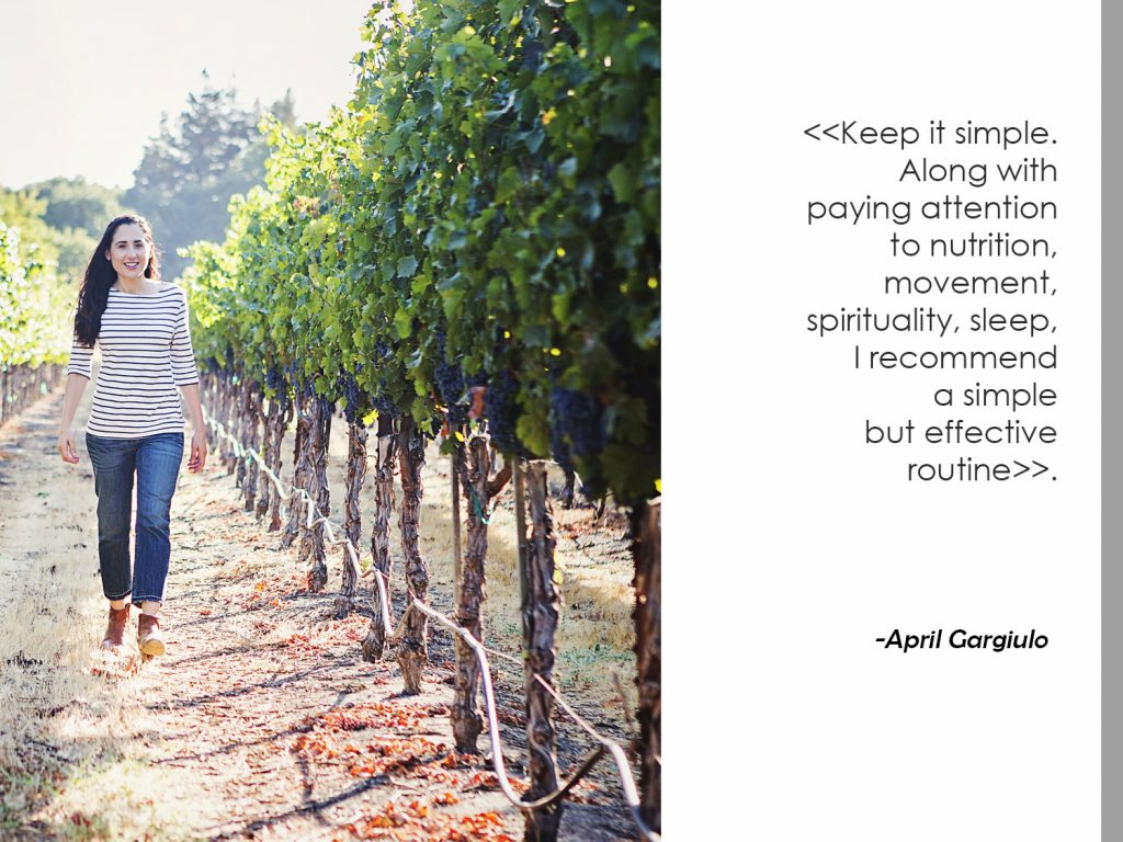 Beauty Tip from the Vintner's Daughter