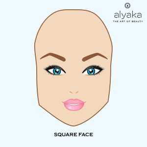 Eyebrow Tips for Square Face