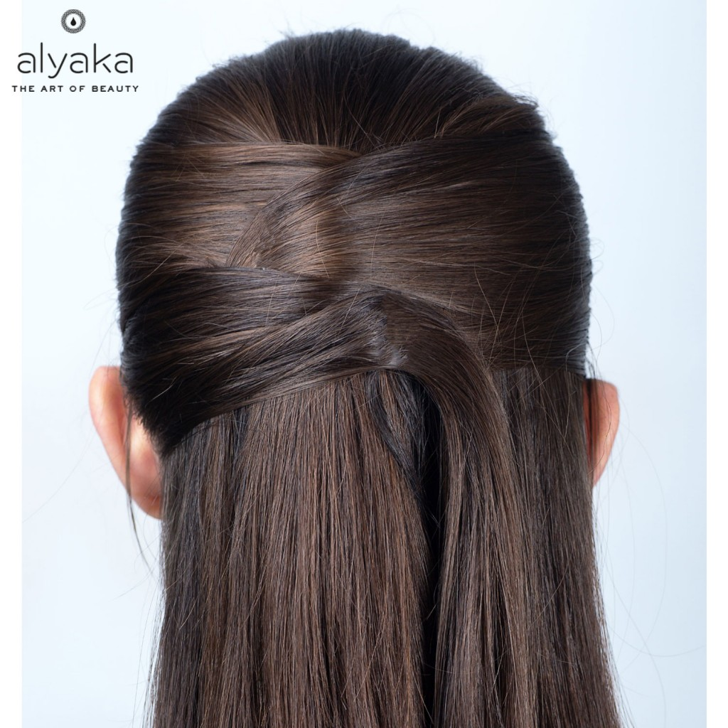 Fancy Half Up Easy Hairstyle