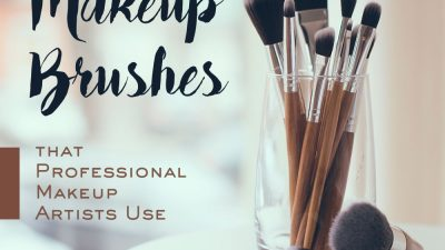 What are the Types of Makeup Brushes that Professional Makeup Artists Use?