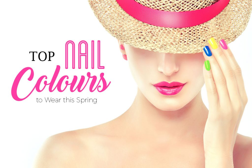 Top Nail Colours for Spring