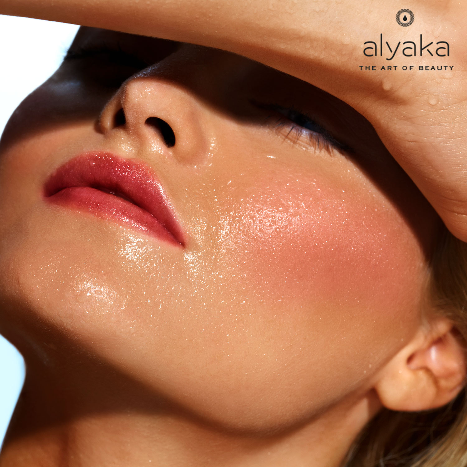 Open Pores Caused by Sweating