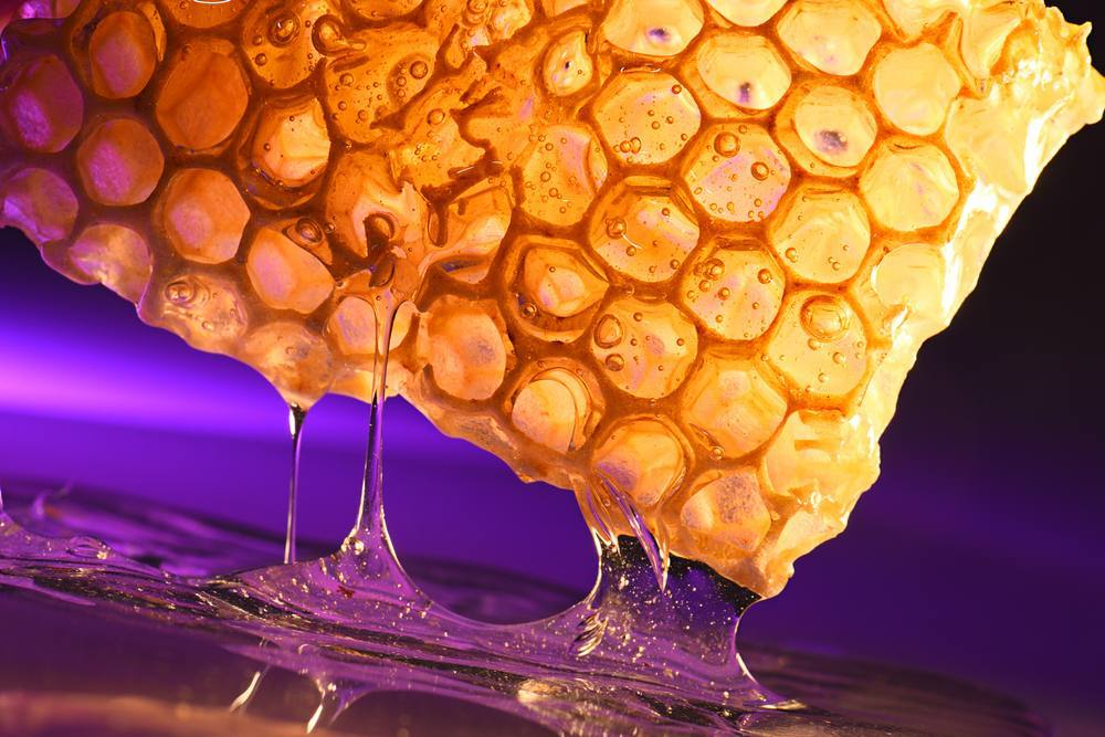 #honeycomb #violet #honeyskin #nature #summer #alyaka #sweet #healthyeating #alyakaofficial