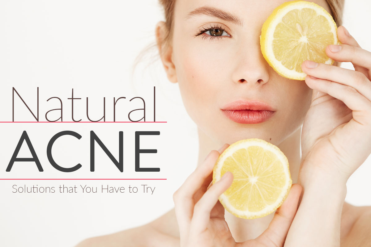 Isang Organic Solution para sa Acne