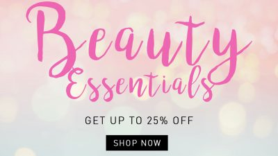 Get Up to 25% Off on Beauty Purchases