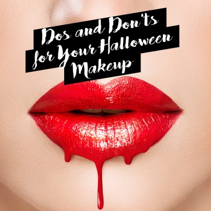 Dos and Don'ts for Your Halloween Makeup