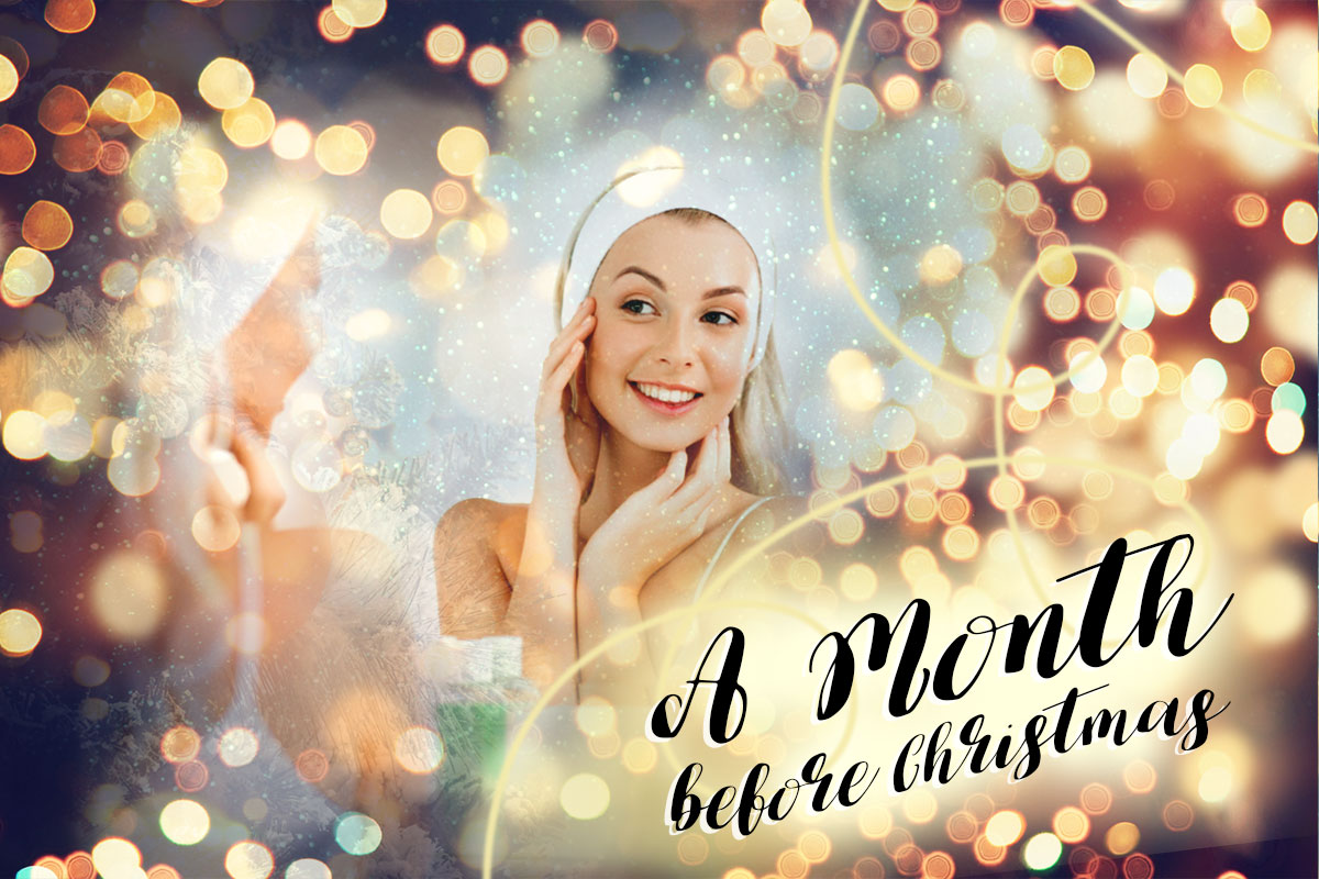 Beauty Tips a Month Before Christmas