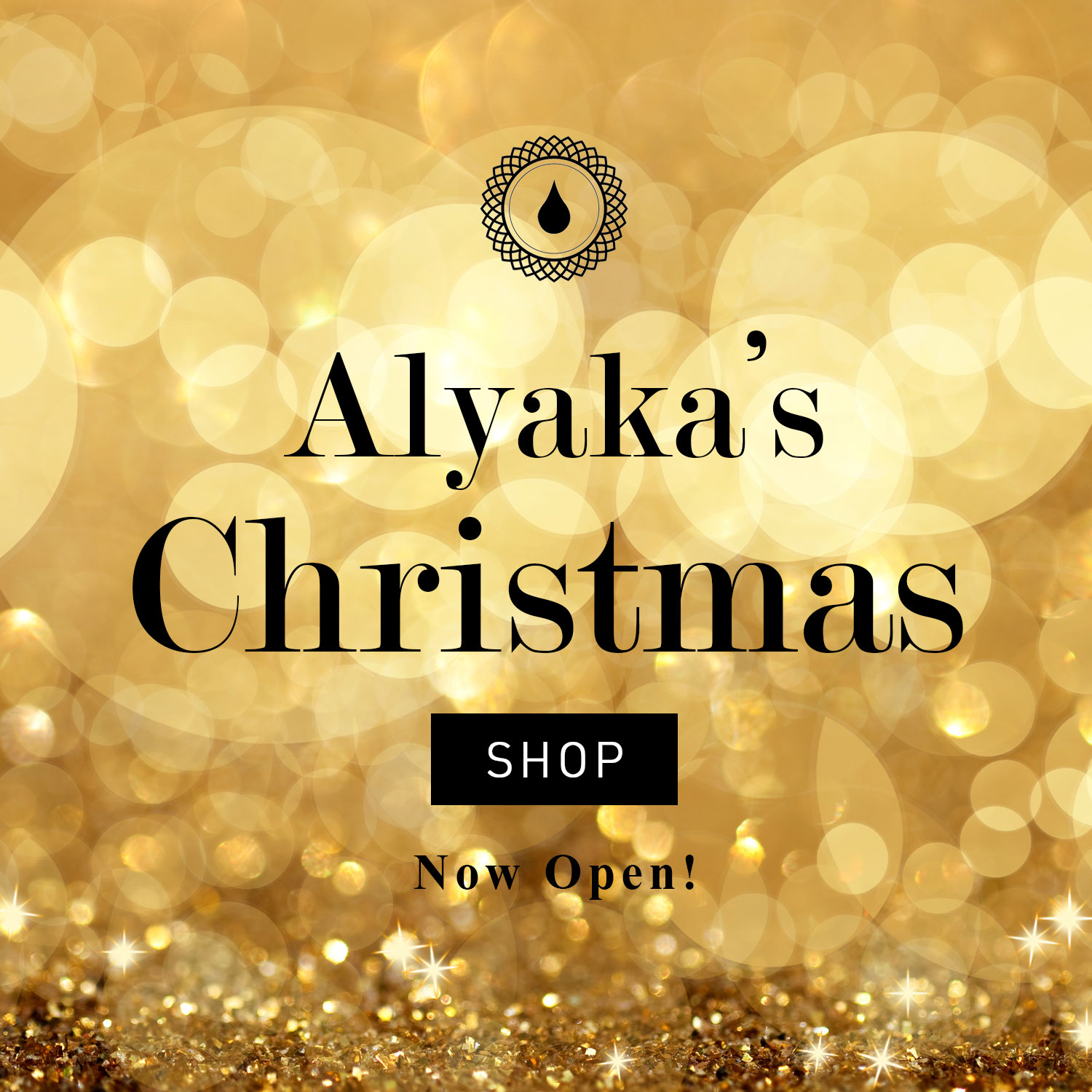 Alyaka's Christmas Shop is Now Open!