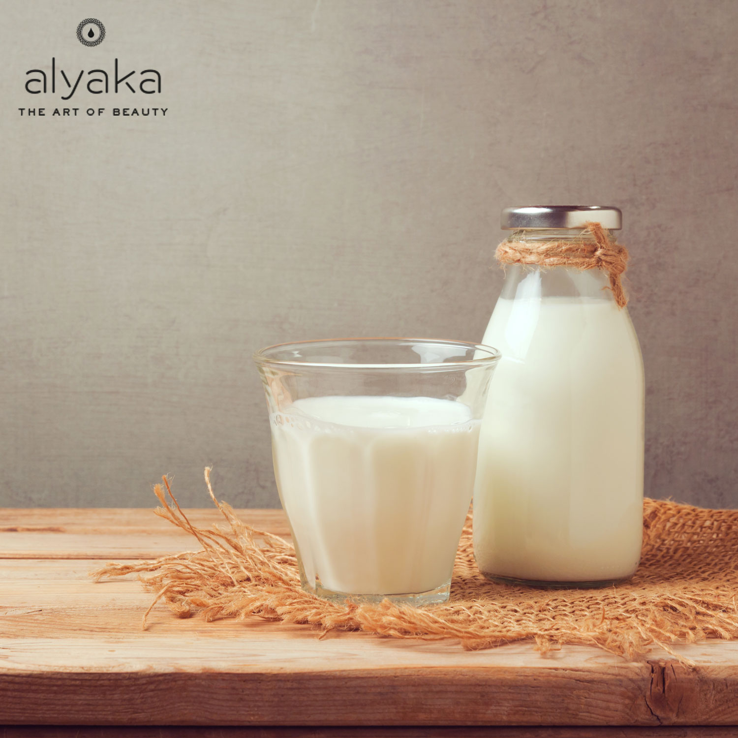 Milk for Eye Bags Removal