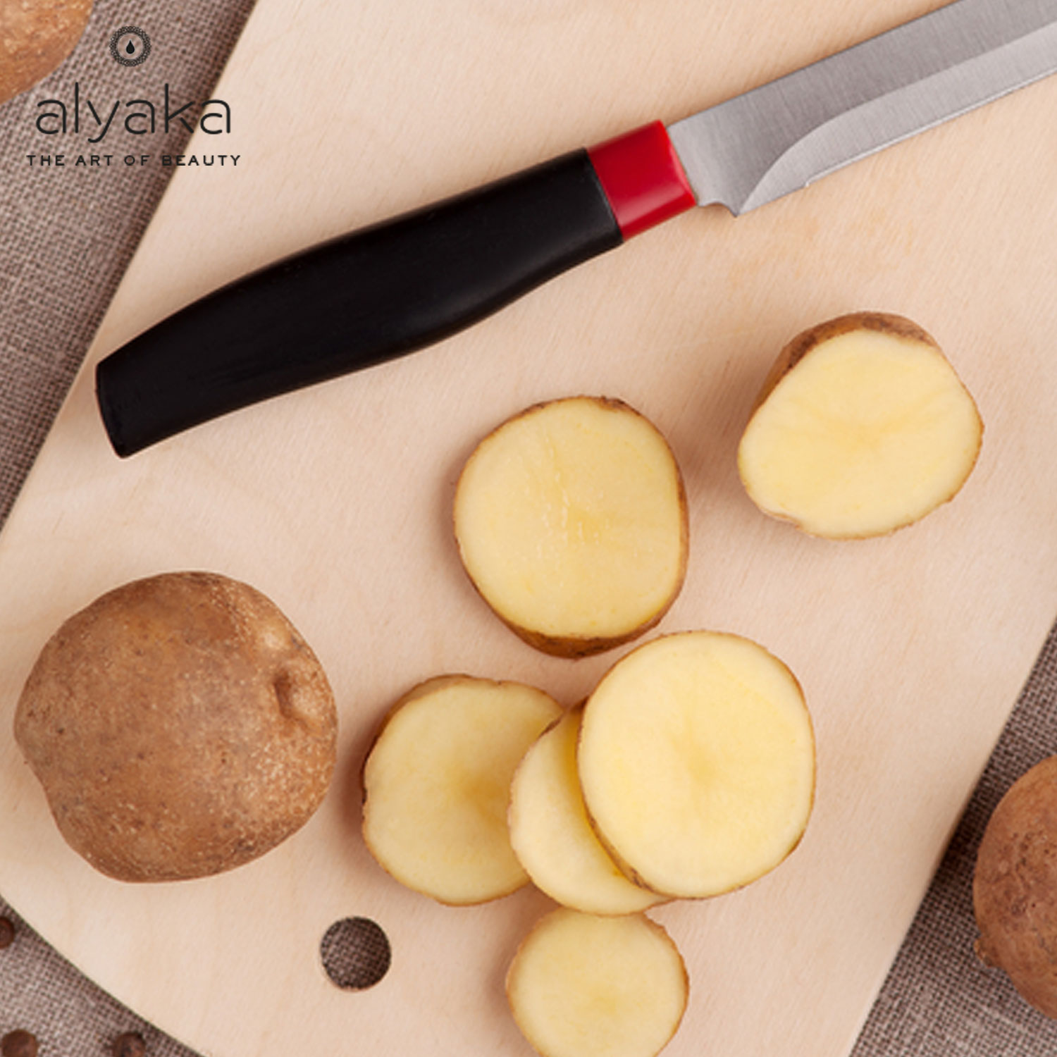 Potatoes for Eye Bags Removal