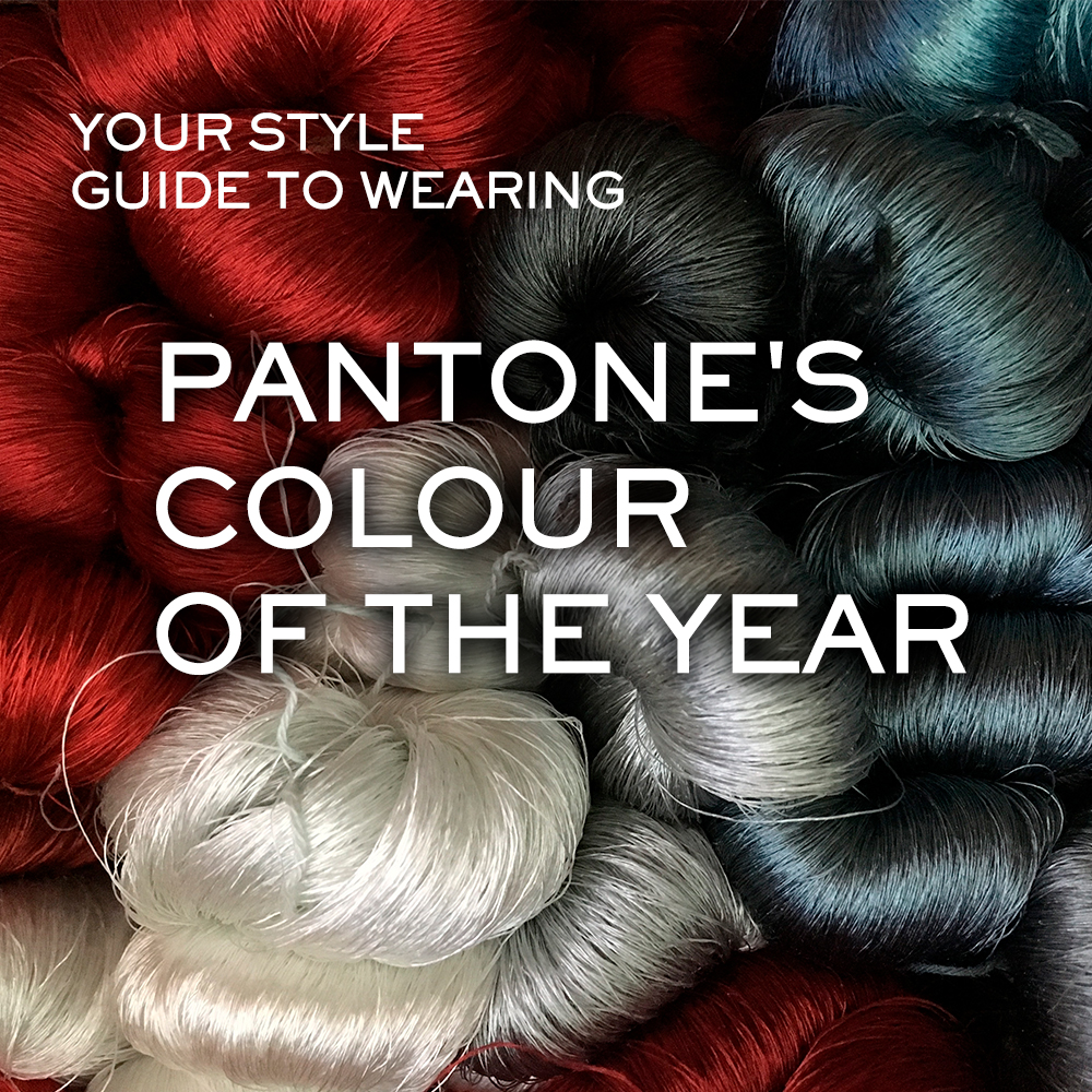 Your Style Guide to Wearing Pantone's Colour of the Year