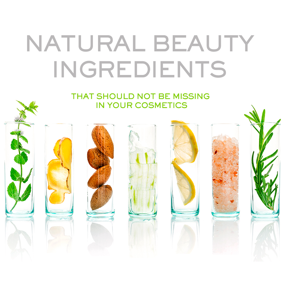 Natural Beauty Ingredients that Should Not be Missing in Your Cosmetics