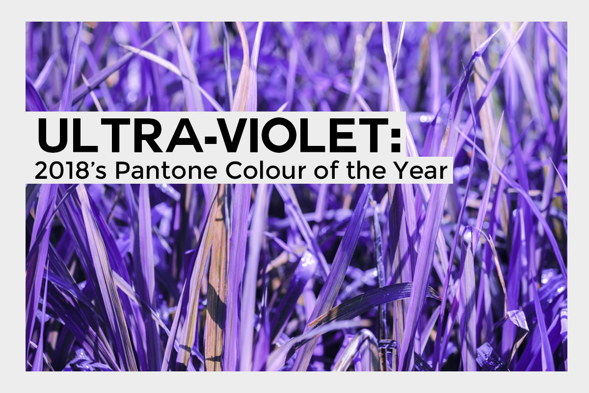 Ultra-Violet 2018's Colour of the Year
