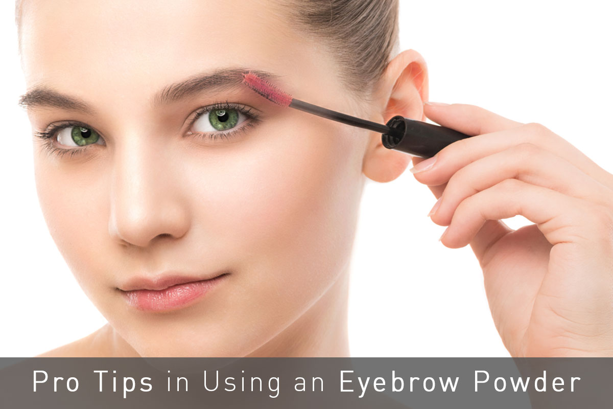 Tips in Using Eyebrow Powder