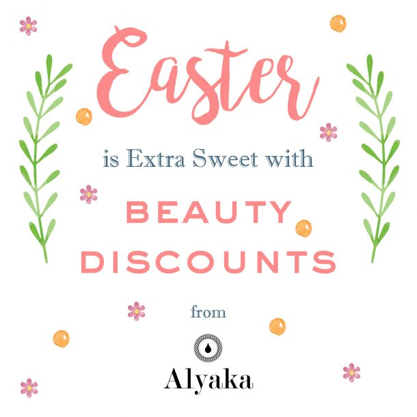 Easter Beauty Sale