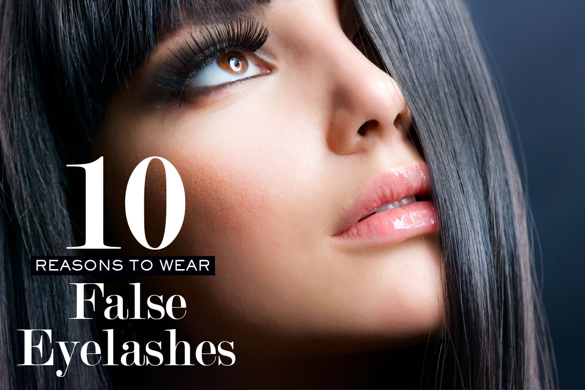 Reasons to Wear False Eyelashes
