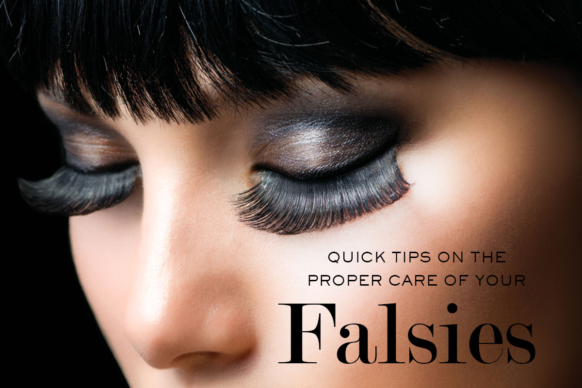 Proper Care for False Eyelashes