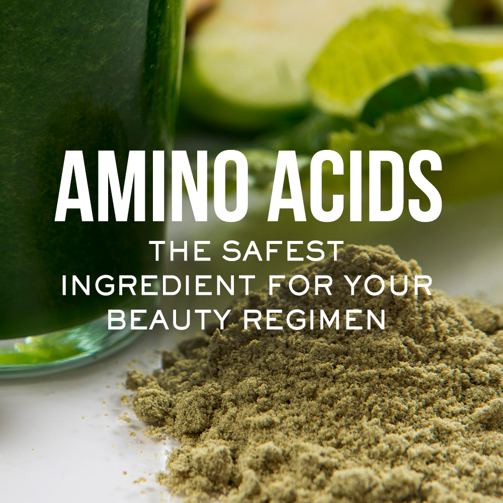 Amino Acids the Safest Ingredients for Your Beauty Regimen