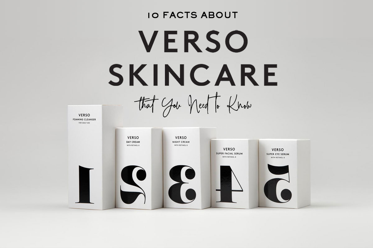 10 Facts About Verso Skincare