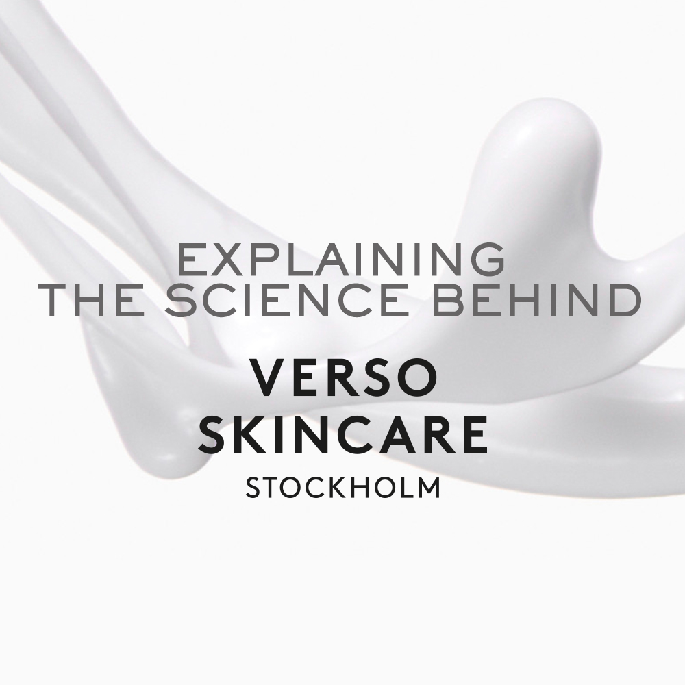 The Science Behind Verso Skincare