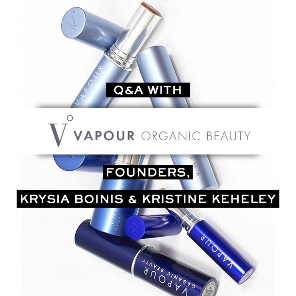 Vapour Organic Beauty Founders