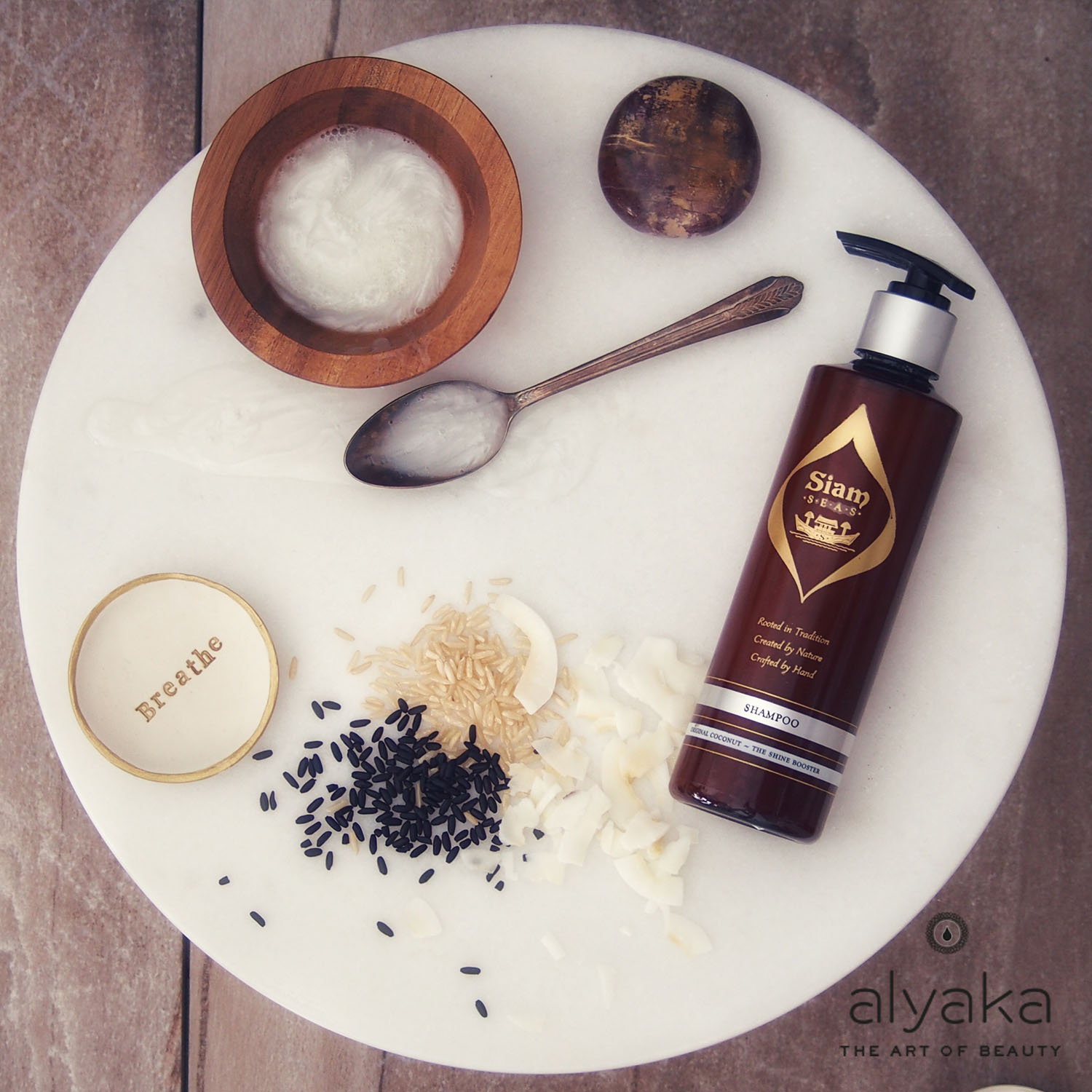 Personal Hair Mask Recipe from Siam Seas