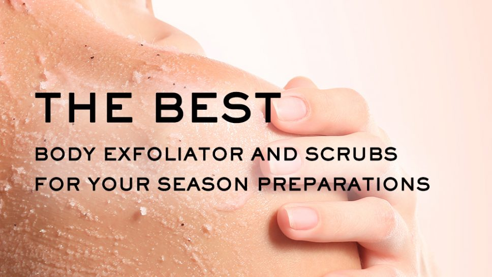 Body Exfoliators and Scrubs