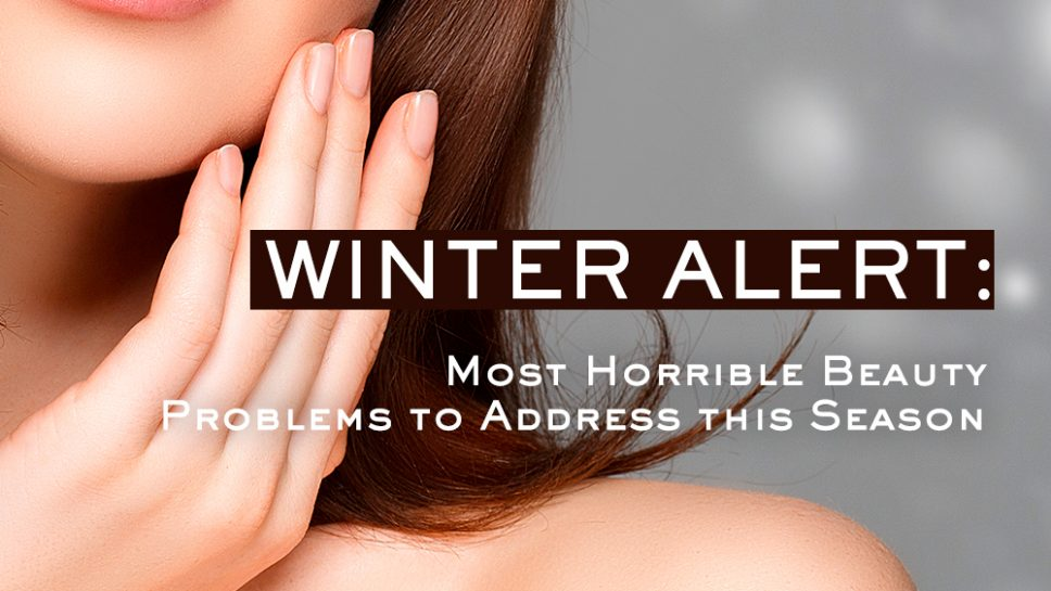 Winter Beauty Problems
