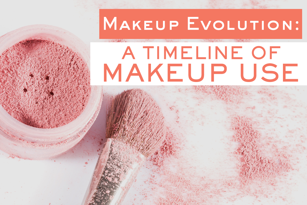 Makeup Evolution A Timeline of Makeup Use