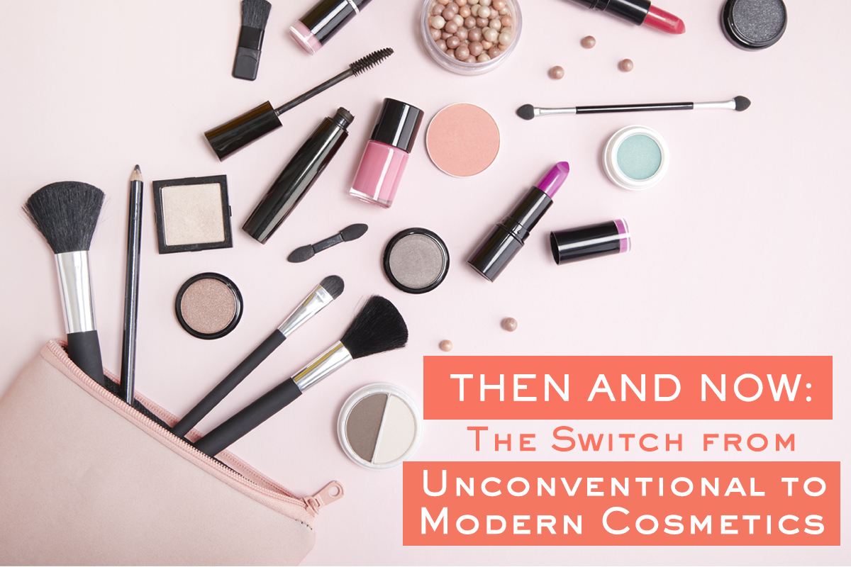 The Switch from Unconventional to Modern Cosmetics