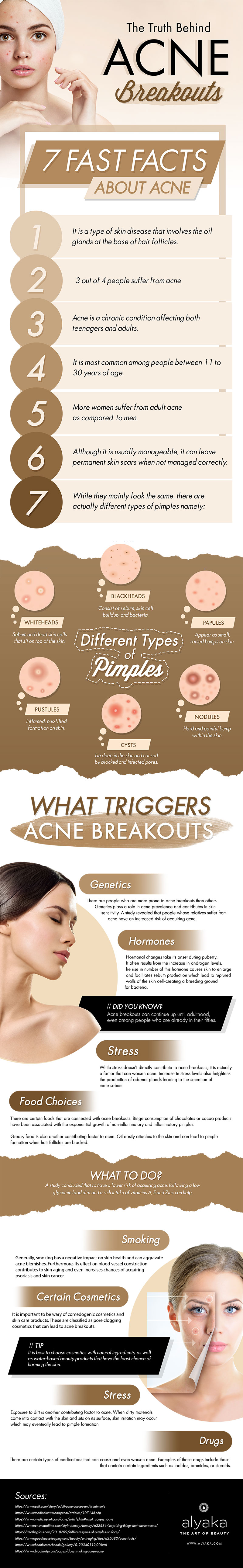 The Facts to Know About Acne-Breakouts