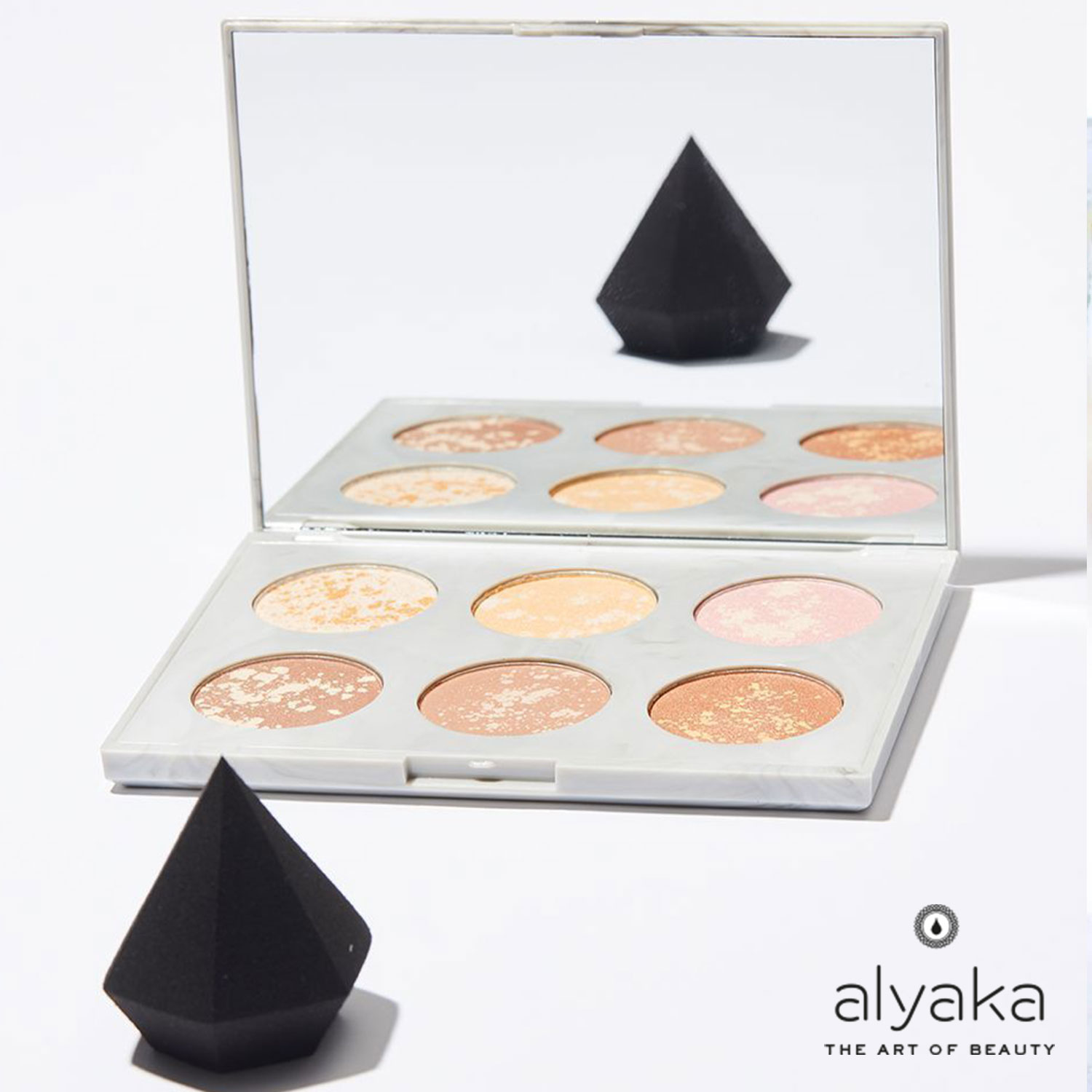 Diamond Shape Makeup Sponge
