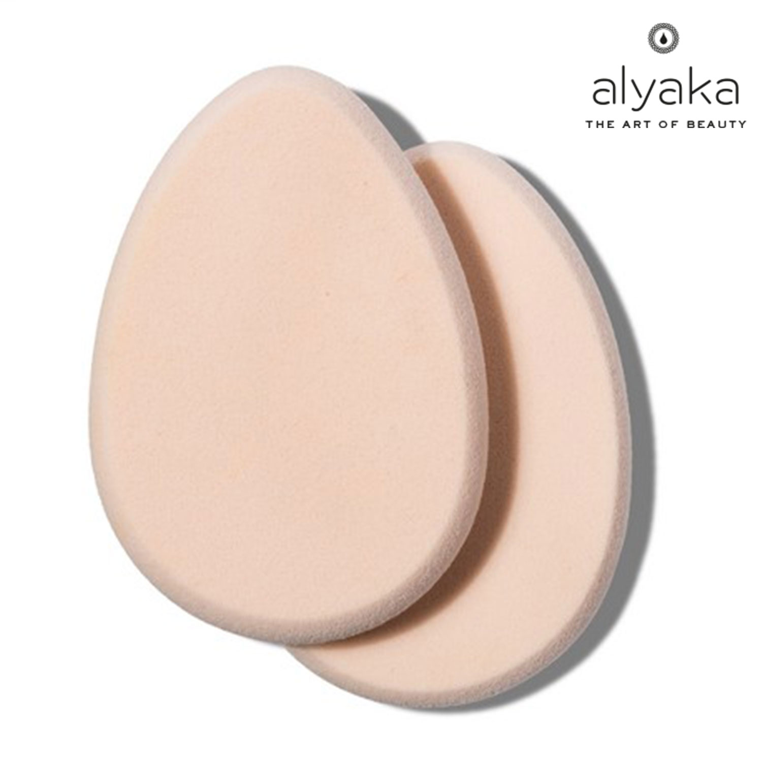 Flat & Asymmetrical Makeup Sponges