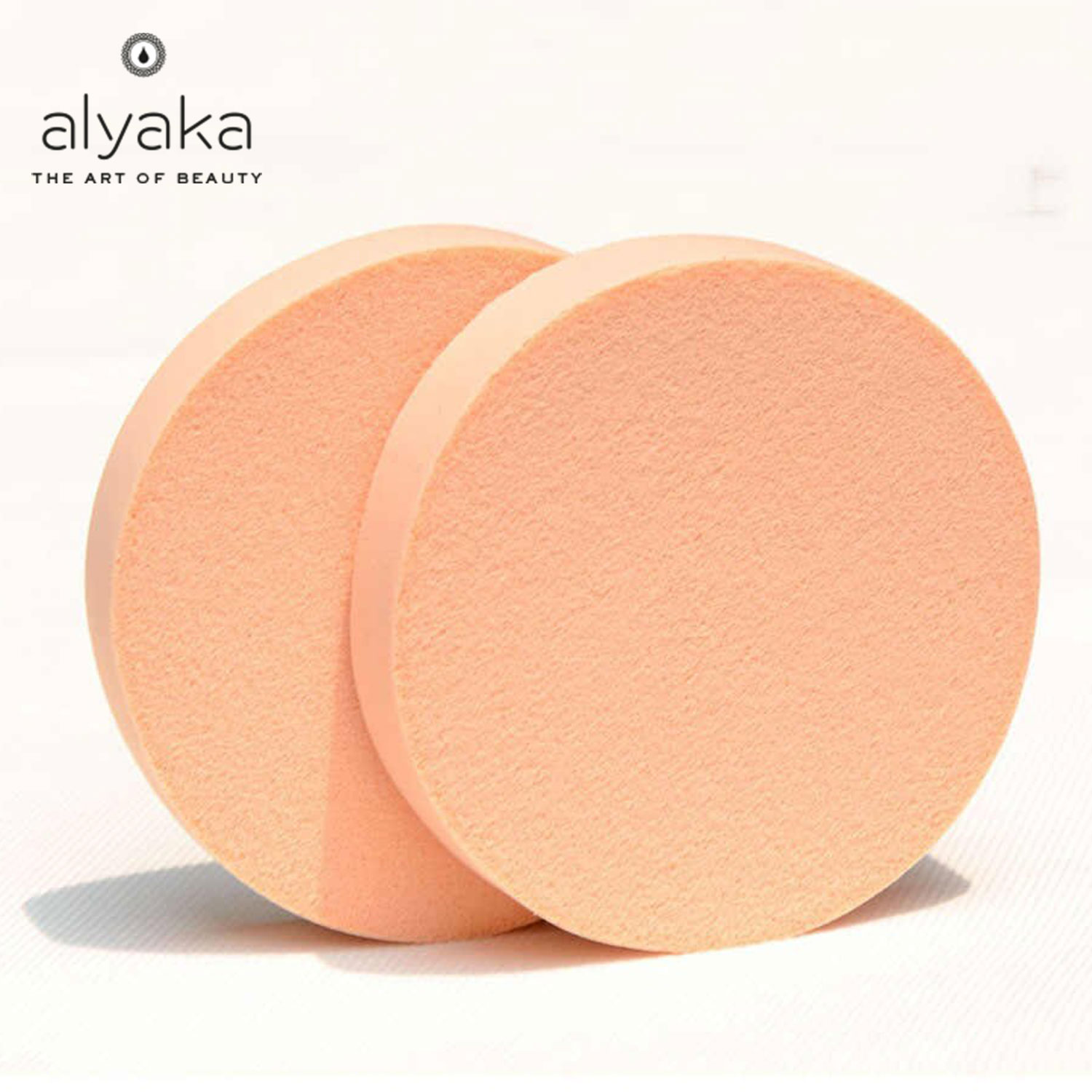 Round Disc Makeup Sponges