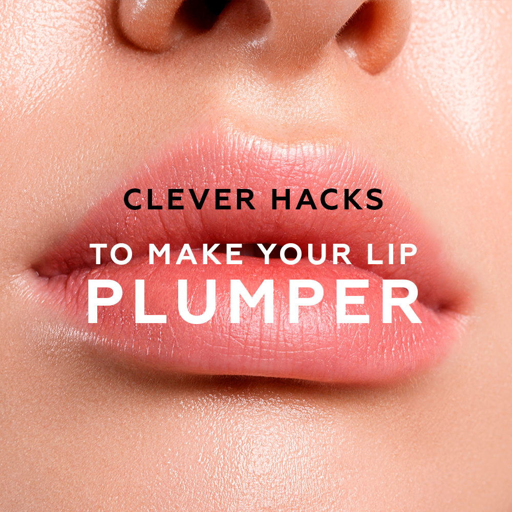 Clever Hacks to Make Your Lip Plumper