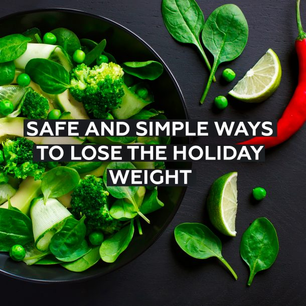 Effective Ways to Lose Holiday Weight