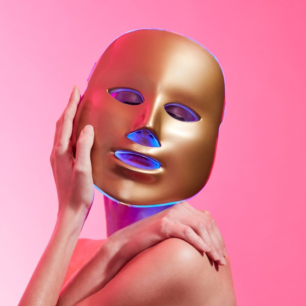 MZ SKIN's Light-therapy Golden Facial Treatment Device